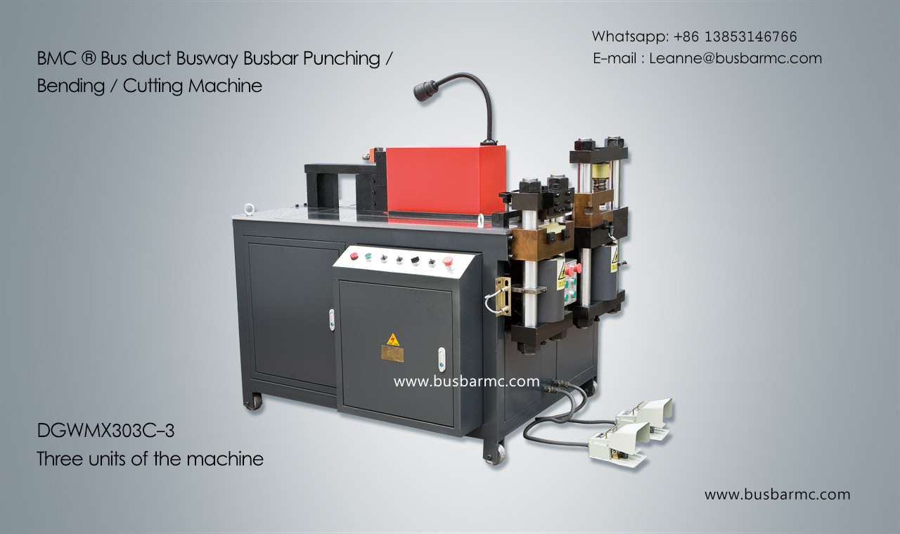 303C-3 Copper Busbar Bending Cutting Punching Machine