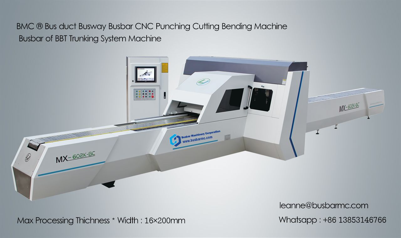 MX602K-8C CNC Busbar punch Machine Copper punching cutting machine