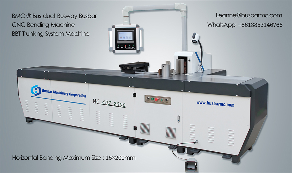 NC.40Z-2000 CNC Copper Busbar Bending Machine