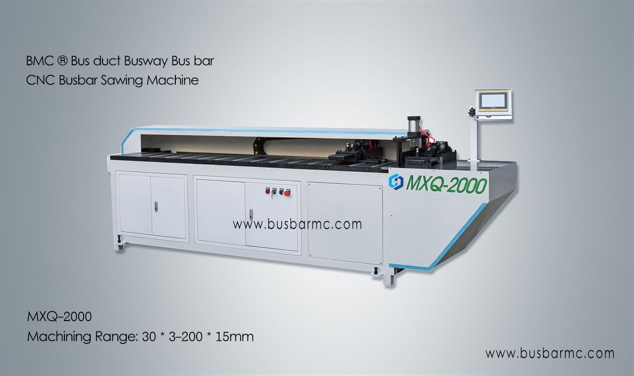 LJMC ® Máquinas de corte CNC embarrado BUS BAR